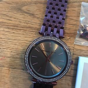 Michael Kors Plum Watch